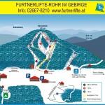 Pistenpanorama Furtnerlifte, Rohr im Gebirge